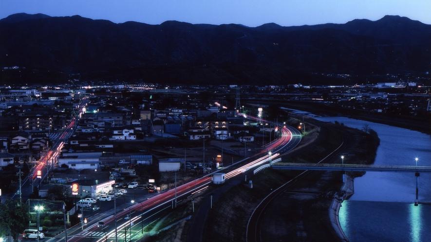 お部屋からの夕景(上層階 南側)