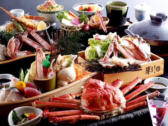 平成最後のカニフルコース食べ納めお料理例