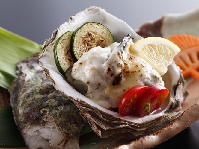 牡蠣グラタンの例