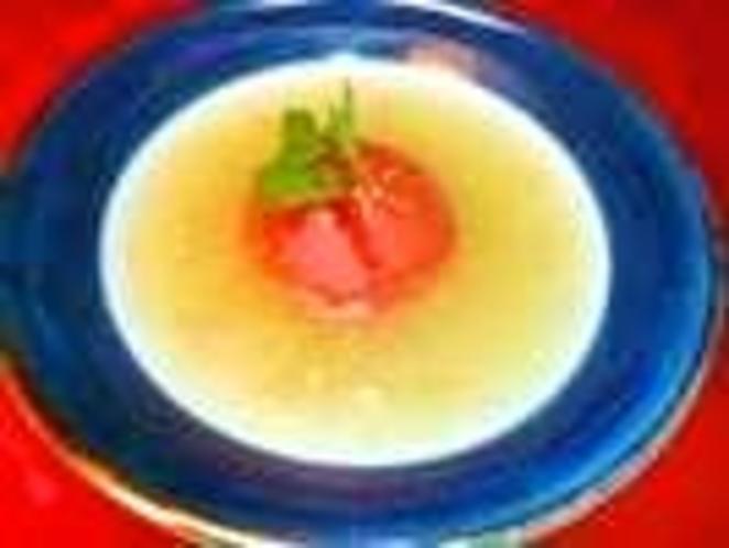久亭オリジナルトマトスープ 好評です ありがとうございます