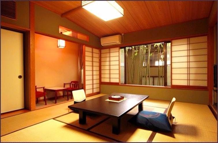 広々サイズの客室