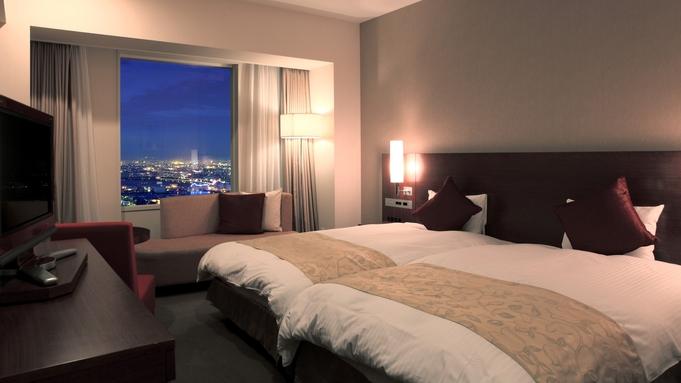 ▽プレミア×プレミアム(朝食&お買い物券など特典いっぱい) お部屋は、48階ホテルおまかせ