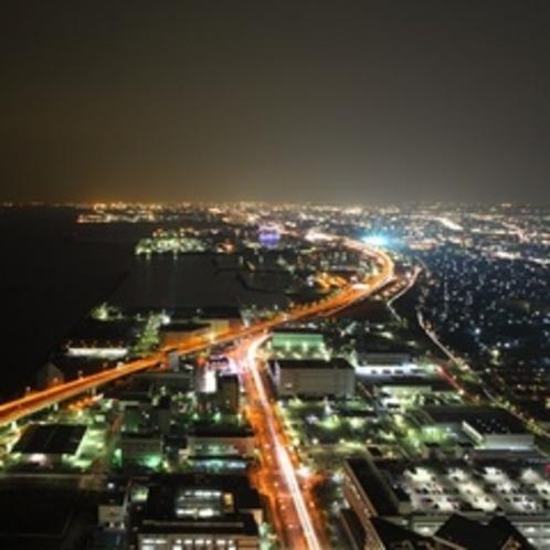 夜景_北側(大阪方面)