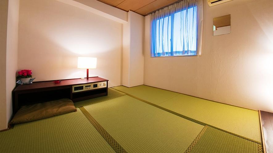 ■和室6畳■はだしでゆったりゴロゴロできるのんびり空間♪