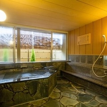 貸切風呂:亀甲の湯