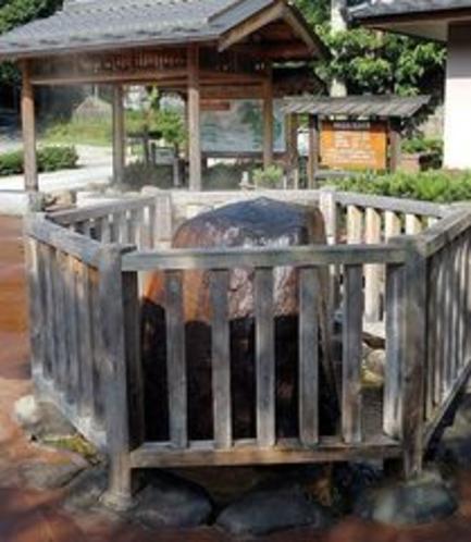 城崎温泉の元湯『薬師源泉』