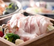 特選豚肉のセイロ蒸しアップ