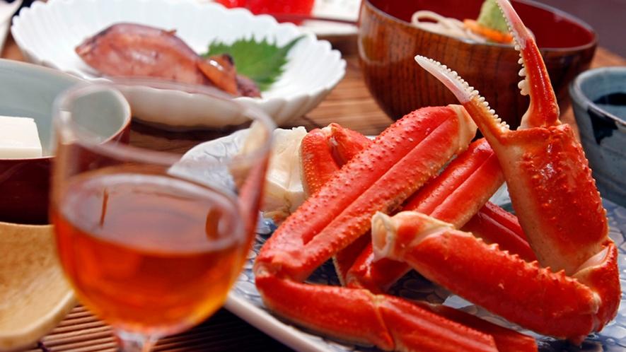 海の幸満載グレードアッププラン 自家製の食前酒(梅酒)も好評です。