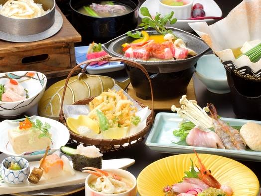 【楽天トラベルセール】【白えび会席プラン】富山湾の宝石白えびを6種たっぷり楽しめる贅沢