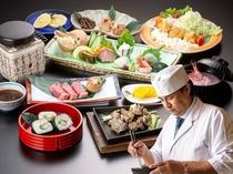 富山3館合同冬企画◆若松料理長の宮崎県創作会席