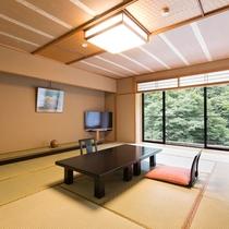 【準貴賓室】ゆったりした広さと間取りをご用意しています。