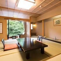 【湯の庄】新館湯の庄客室。12.5帖タイプです。