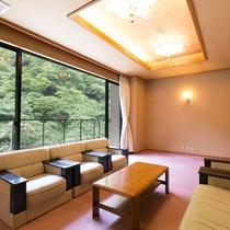 【準貴賓室】客室からの眺望がすばらしい、貴賓室各お部屋。