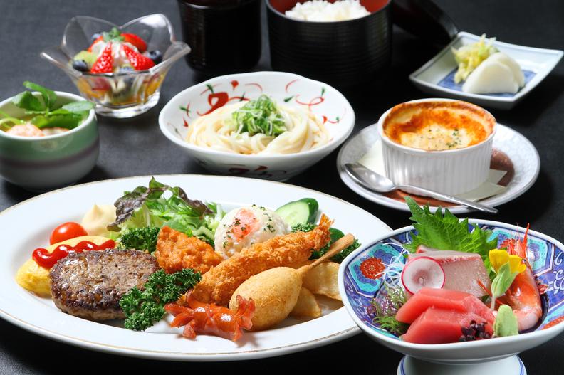 小学生向け夕食(イメージ)