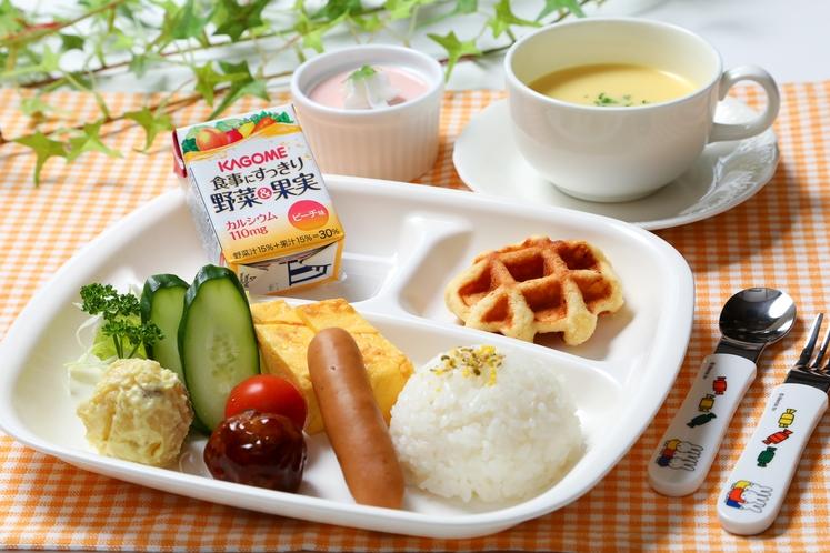 幼児向け朝食(イメージ)