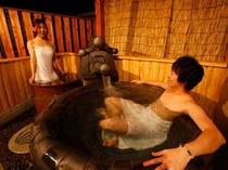 【平屋離れB/りんどう】和洋室<ツイン/喫煙>和室4.5(43㎡)露天風呂(瓦張り・ブロアバス)