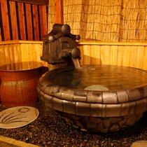 【平屋離れB/りんどう】和洋室<ツイン/喫煙>和室4.5畳(43㎡)露天風呂(瓦張り/ブロアバス)