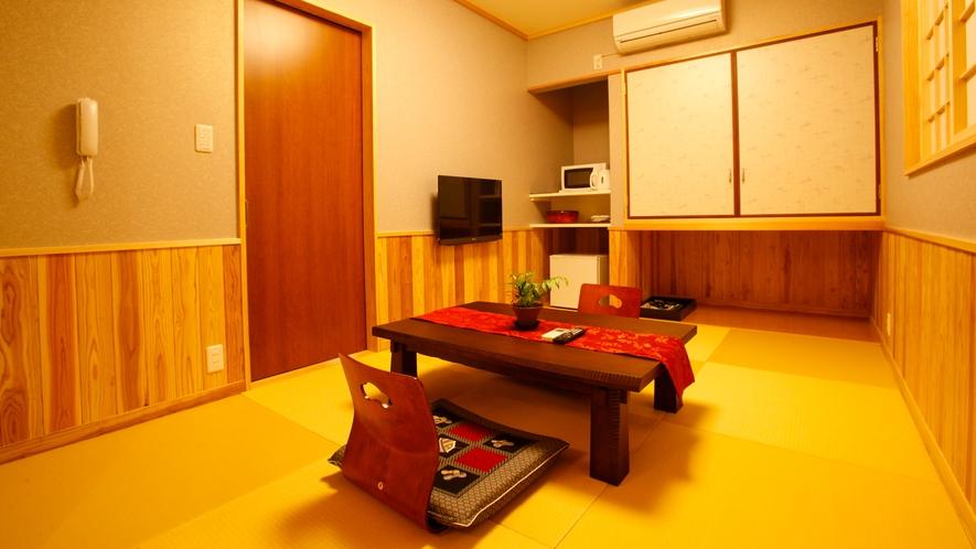 【離れ】平屋建て離れBtype 和室4.5帖+ベッドルーム