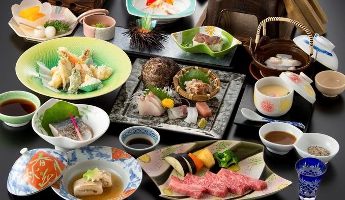 【特選味覚会席】佐賀牛・海の幸・旬の品々を揃えた会席料理☆当館は佐賀牛取扱指定店です