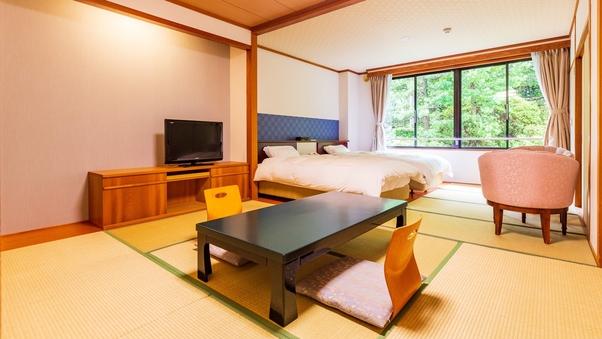 【和洋室】人気のシモンズ社製ベット+7.5畳の和室スペース