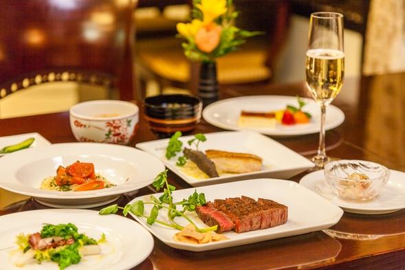 【ホテルで愉しむスペシャルディナー!夕朝食付き】ヒルトッププラン