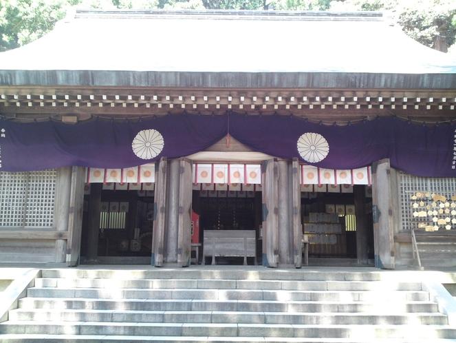 佐渡一の宮度津(わたつ)神社