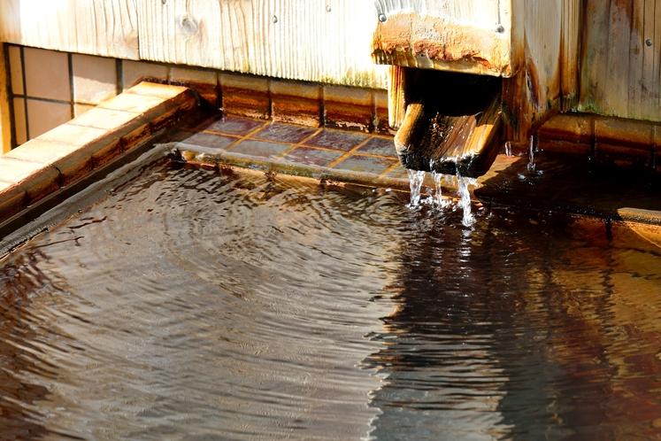 個室貸切露天風呂「湯楽長屋」湯船