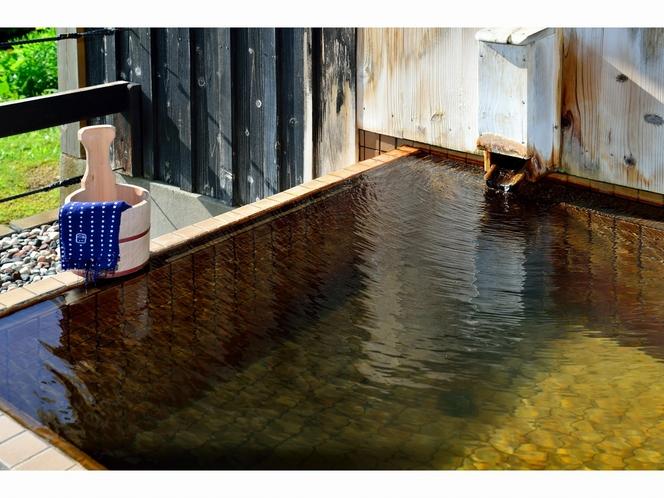 個室貸切露天風呂「湯楽長屋」浴室