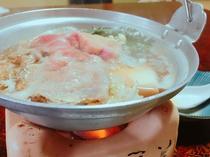 【夕食例】季節のお鍋