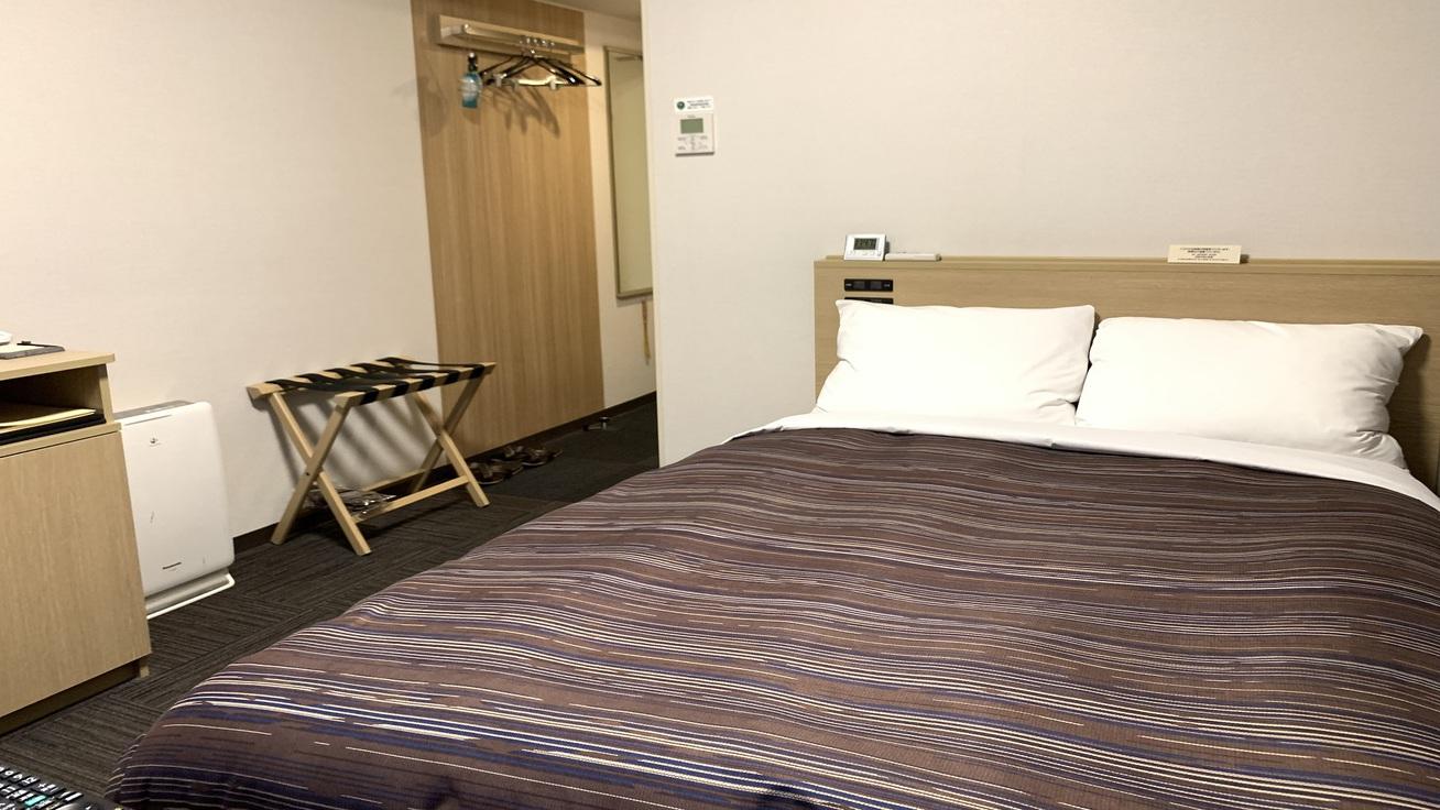 セミダブルルーム(ベッドサイズ130195cm)◇全室Wi-Fi接続