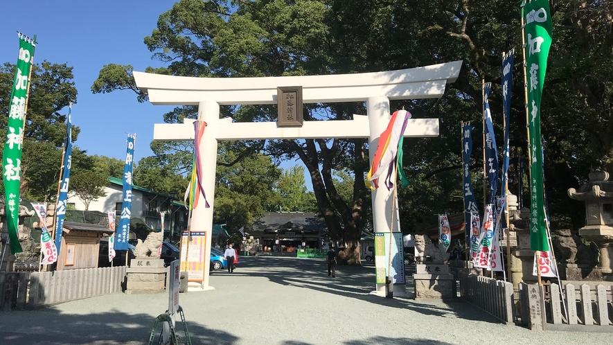 加藤神社◇城内には熊本城を築城した「加藤清正」を祭る加藤神社がございます。