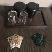 コンフォートルーム◇煎茶と紅茶をご用意しております。