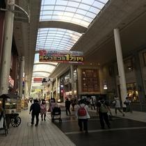 上通アーケード◇長さ600m・熊本文教発祥の地であり歴史と文化の街と言われています。