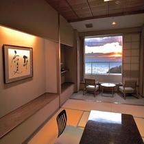 和邸白良浜ビュー純和室(客室一例)