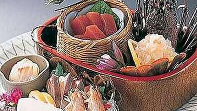 【紀州クエ大鍋】豪華クエ&伊勢えびお造り付★肌寒い季節は鍋で決まり!(お部屋食)