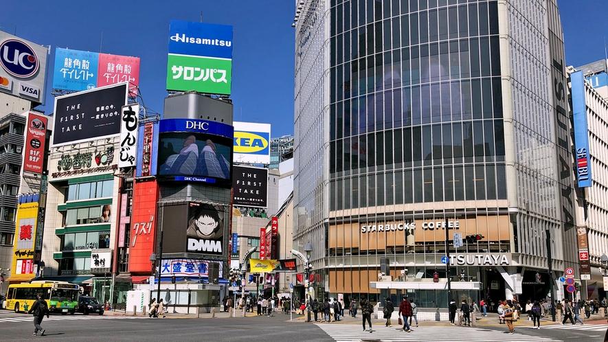 〇渋谷スクランブル交差点