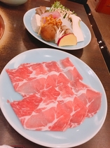 岩中豚と季節のお野菜