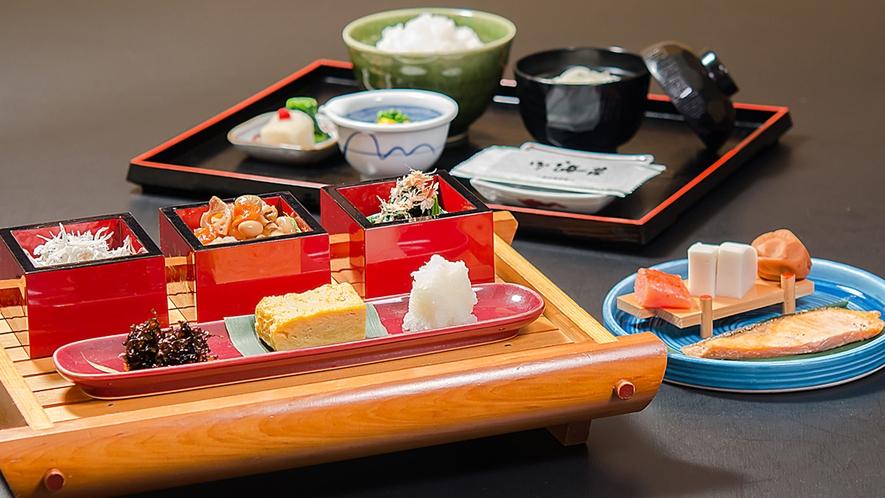 ■ご朝食<和食>※内容は一部異なる場合がございます。