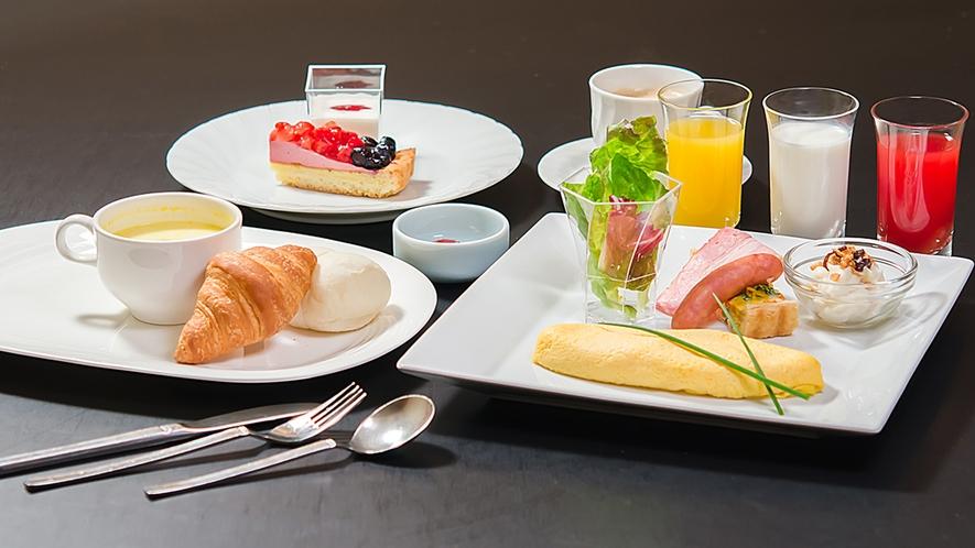 ■ご朝食<洋食>※内容は一部異なる場合がございます。