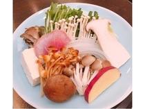しゃぶ禅プラン・季節のお野菜盛り合わせ