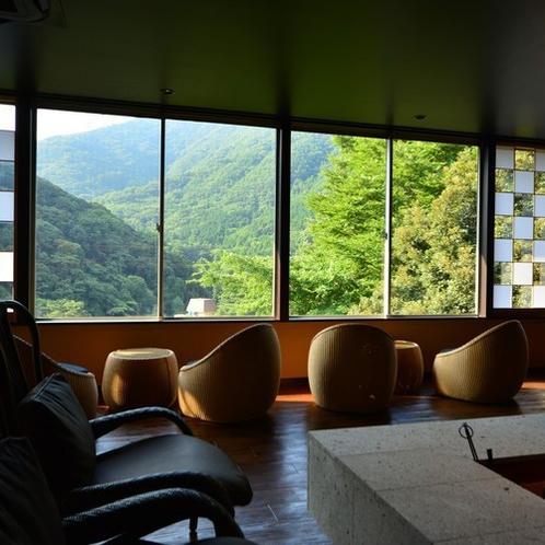 箱根連山を望むくつろぎ処