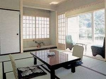 客室は和室と洋室を用意しております