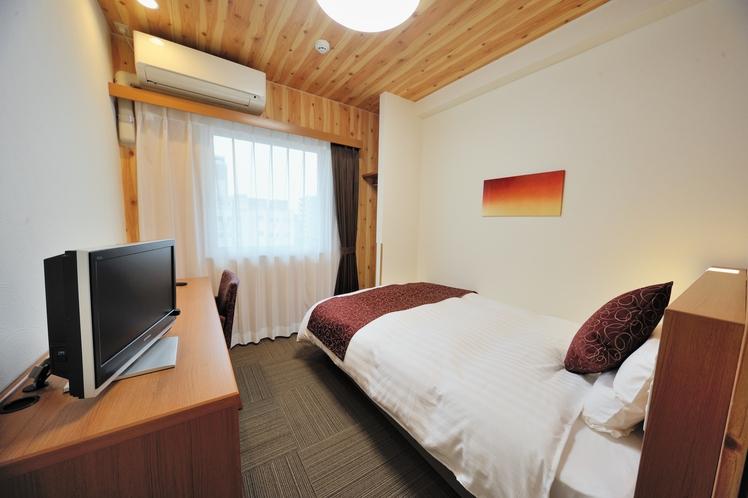 ◆エコノミーA 14平米 ベッド幅120cm バス・シャワーなし