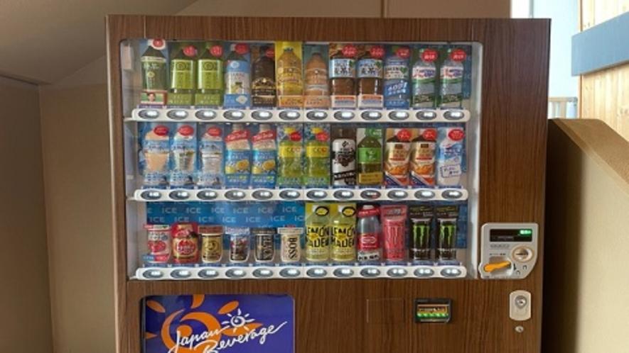 ■自動販売機コーナー(1階、2階、4階、8階、10階)
