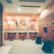 ◆女性大浴場 脱衣所