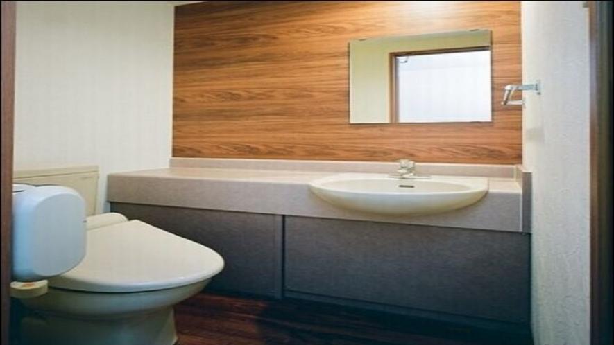 【客室】温水洗浄機付トイレ