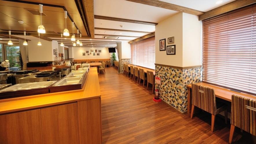 ◆2階レストラン【HATAGO】 6:15~9:30(LO9:00)