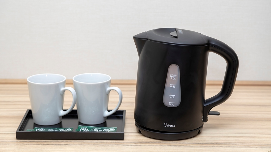 ◆客室お茶セット