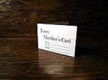 タウンメンバーズカード