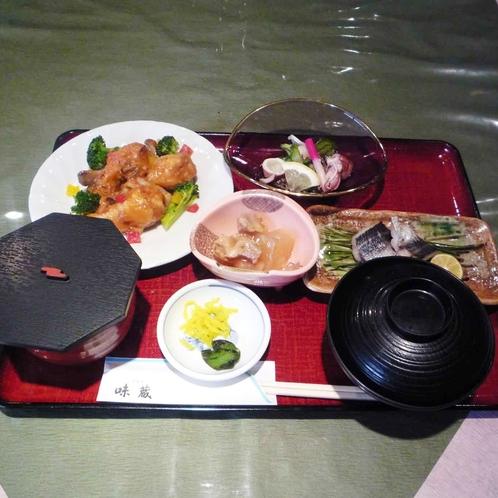 日替わり夕食(例)